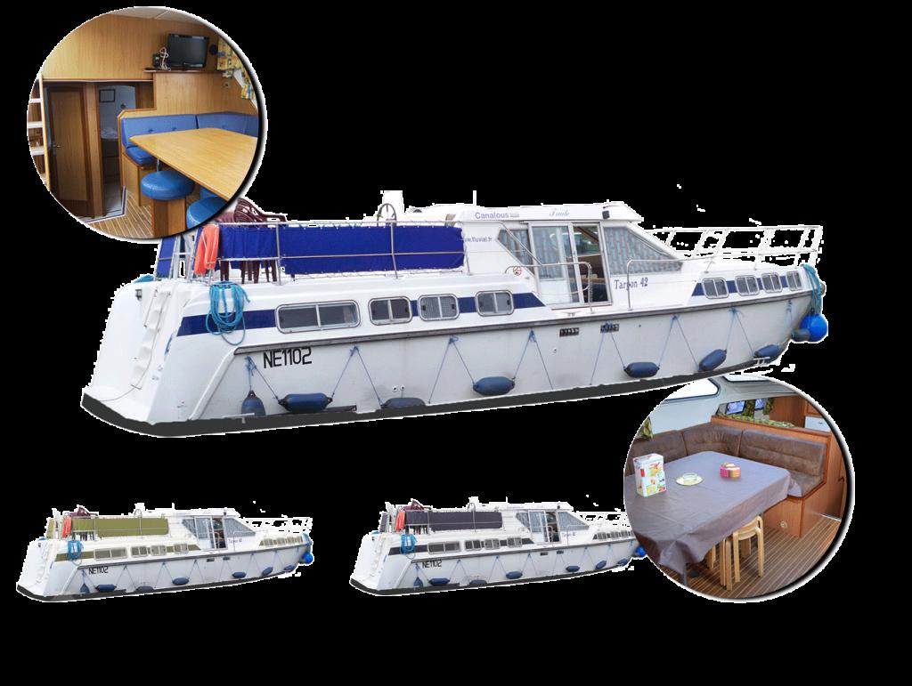 personnalisez votre bateau tarpon 42