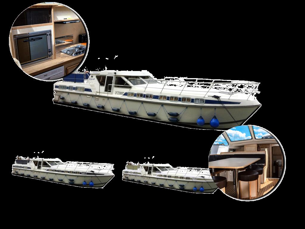 personnalisez votre bateau tarpon 49