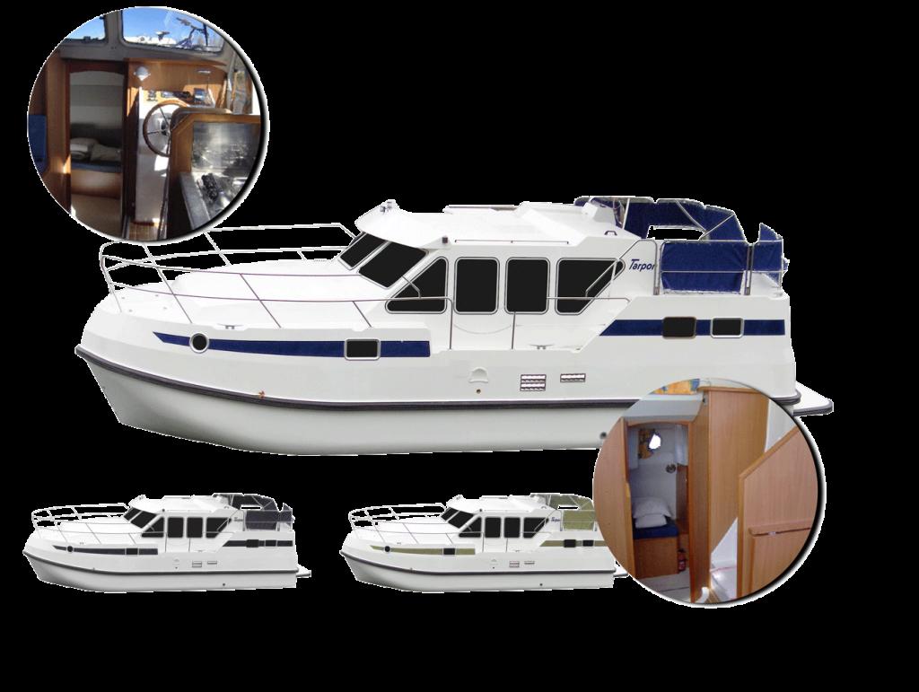 personnalisez votre bateau tarpon 32